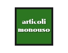 ARTICOLI MONOUSO